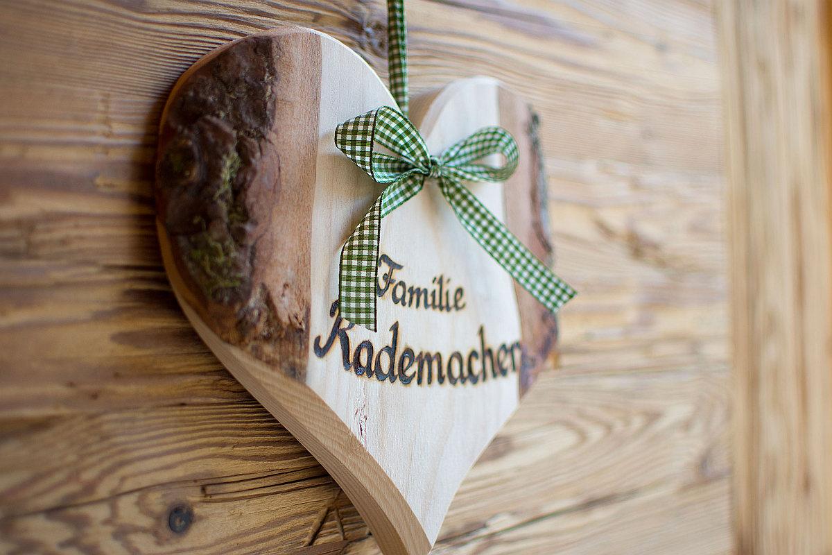 Willkommen Familie Rademacher