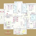 Grundriss Ferienwohnung inkl. separatem Appartement