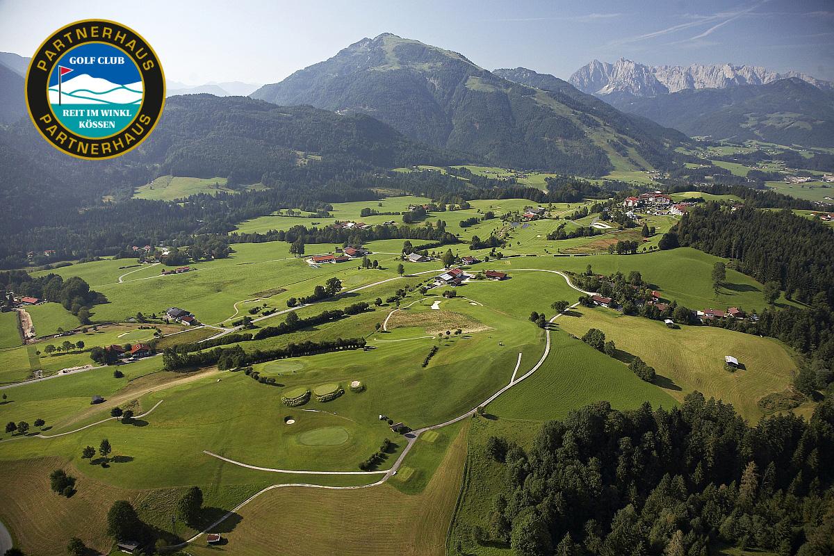 Ferienwohnung Reit im Winkl - Luftbild Golfplatz ©Stockklauser