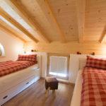 Ferienwohnung Reit im Winkl, Chalet im Ahornwinkl, Schlafzimmer Ferienwohnung mit zwei Einzelbetten